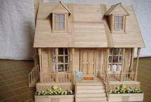 Maketler ve kuş evleri