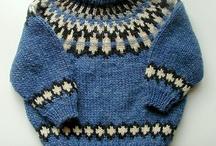 Children iceland knitting