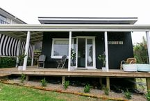 Rosie's cottage / Rosies cottage is gorgeous one bedroom accommodation in Stanmore Bay, Auckland, New Zealand.  It has lovely sea views and is styled with beautiful linens, cushions and comfortable furniture.