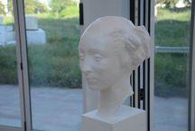 Heykel Sergimden.. From My Sculpture Exhibition..