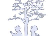 Контуры деревьев и прочее