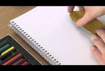 Inktense / Tutorials, ideas and inspiration using inktense pencils and pigment