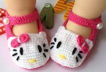 Пинетки, носочки, вязаная обувь деткам