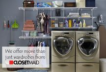 Laundry/ Utility Storage / Keep order in the laundry room with our top products and ideas!