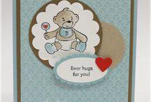 cards - bear hugs