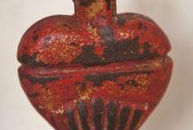 Serce i anioł / serca i anioły - wizualizacje w sztuce, naturze i biżuterii