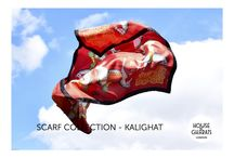 Kalighat Collection: Scarves / Scarves made by House of Gharats!