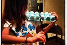 Playing violin-basics