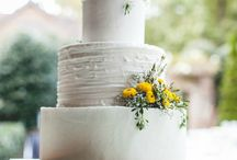 Aqua and Yellow Wedding / This Aqua and Yellow Outdoor Wedding was filled with personalized details