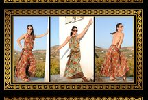 Boho fashion by Boho Queens / Bohemian clothes designed by Nota Pappa Athens