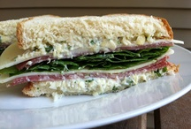 Sandwiches / by Laura Rothe