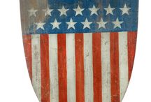 2014-9 Country Americana, Painted Furniture, Folk Art, Pottery & Lighting auction