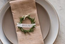 Name tags & Escort cards