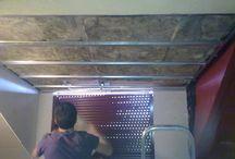 Aislamientos techos interiores