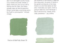 My Color Inspiration & Color Schemes <3