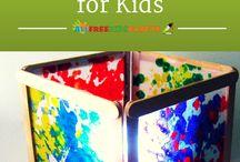 Kids art and craft ideas