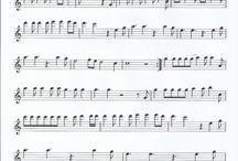 Flute sheet