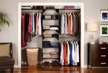 Master Closets (Clothes, Shoes, Linen)