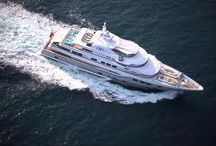 My Job / Luxury Yachting / The yachts I have visited and have bin working on...