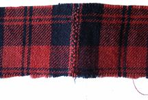 joined plaid feather stitch