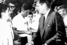 1963 - Juillet. John Fitzgerald KENNEDY / 1er: Vatican. 2: rencontre avec le Pape. 2 (17h00): Naples, AFSOUTH. 4: Otis AFB ?? 5: Hyannis Port Beach. 6: à bord du Marlin. 7: Golf à Hyannis Port. 8: MB, Rose Garden. 13: Hyannis Port, Otis AFB. 15: MB, avec le President of Tanganyika. 16: MB. 17: Conférence de presse. 19: MB, with Betty Miller 20: Hyannis Port Country Club. 21: Honey Fitz. 24: Bill Clinton rencontre JFK (member of The American Legion Boys Nation). 26: Maison Blanche. 27: Golf à HP. 28: HP 28: Honey Fizt.