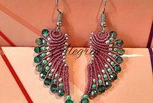 Macrame earrings