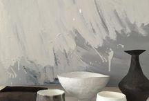 monochrome ceramics