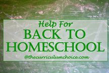 Back to Homeschool / Fun ideas, motivation and celebrations for back to homeschool!