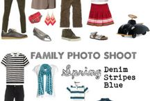 Photography : What to wear to a photoshoot / Ideas of what to wear when going for a photoshoot