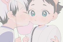 bokuto&Akaashi