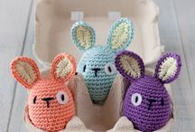 Crochet and knitting Easter