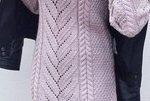платья вязаные / вязаные