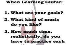 Guitar Blog / Guitar instruction & playing.