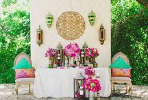 Mariage déco thème marocain