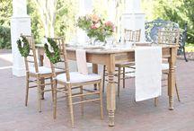 Outdoor Entertaining / Garden Parties to Beautiful Outdoor settings
