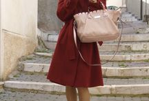 BURGUNDY CHIC / Burgundy Outfit