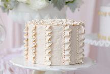 Pretty buttercream cakes