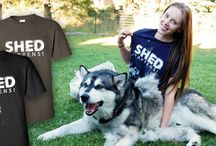 Siberian Husky and Malamute clothing and graphic designs (PLUS new animal designs too) / This board contains some fantastic products from Rockindashirts.com
