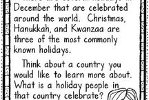 Holidays around the world