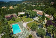 Villa in Auribeau-Sur-Siagne, nestled in mature gardens  / The property, located in Auribeau-Sur-Siagne, is nestled in mature gardens of 30,800 sq.m, and includes a wonderful Provencal manor house dating from the 17th century, a guest house and independent staff accommodation.