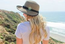 Women's Summer Hats / Functional and fashionable UPF 50 hats for women of all different styles: packable, floppy, straw, visors, derby, fedora, bucket, etc.