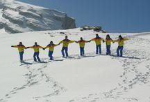 Cortina 2005 / Correva l'anno 2005. Per un Pinguino l'habitat naturale è la neve e allora… tutti in montagna! http://www.giovannipellegrini.it/pagina/431/Cortina-2005