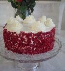 kırmızı kadife pasta