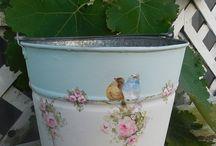 baldes decorados