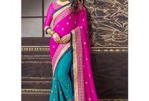 New Summer wedding sarees / best designer sarees in india