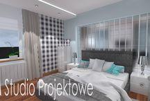 Projekty wnętrz i elewacji budynków / Projekty wnętrz AM Studio Projektowe