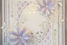 Butterfly Elegance Samples / Sample cards, made by me, using my Sentimentally Yours Butterfly Elegance Collection of stamps :-)