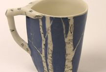 birch themed ceramics