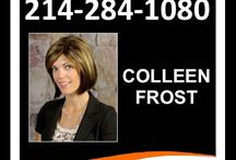 #1 Real Estate Team / Find out how you can have The Colleen Frost Team represent you in your next real estate transaction and be a friend for life!