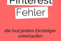 Pinterest und Blog